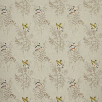 iLiv Gold Finch Fabric - Coral
