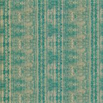 Harlequin Belvedere Odisha Velvet Fabric - Emerald,Antique Gold