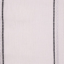 Harlequin Purity Voiles Fabric - Ivory,Onyx,Silver