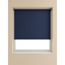 Interior Fabrics Custom Roller Blind - Navy