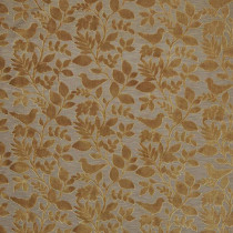 iLiv Orchard Birds Fabric - Buttercup
