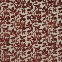 iLiv Orchard Birds Fabric - Coral