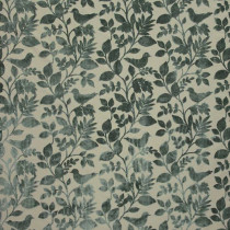 iLiv Orchard Birds Fabric - Eau De Nil