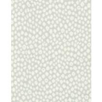 Belfield Polka Fabric - Silver