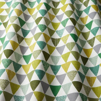 iLiv Pyramids PVC Fabric - Kiwi