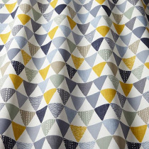 iLiv Pyramids PVC Fabric - Ochre