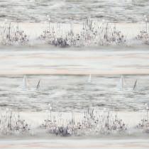 iLiv Seascape Fabric - Coral