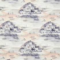 iLiv Seaside Fabric - Coral