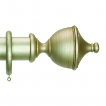 50mm Duet Urn Finial - Dutch Silver
