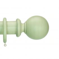 50mm Duet Ball Finial - Travertine