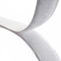 "Stick-On Loop Velcro (White) 25mm (1"") - Price Per Metre"