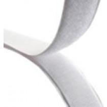 Stick-On Hook Velcro: White 1 Inch