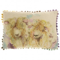 Voyage Maison Lincoln Sheep Cushion - Linen