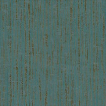 Casamance Bel Air Wallpaper - Bleu Canard