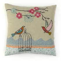 Bird Cage Cushion