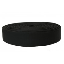 "Interior Fabrics Black Webbing 2"" - 1m"