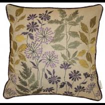 Botanical Violet Cushion