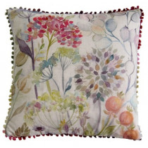 Voyage Maison Hedgerow Square Linen Cushion - Linen
