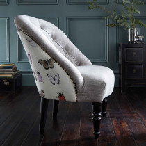 Clarke and Clarke Papilio Heather Soho Chair