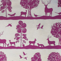 Voyage Cairngorms Fabric - Berry