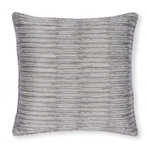Clarke And Clarke Campello 43 x 43cm Cushion - Charcoal