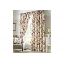 Carnaby Lined Curtains - Chintz