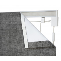 Corded Roman Blind Kit - Silver