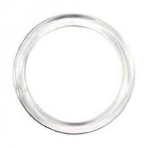 Clear Plastic Ring 1/2""