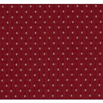 Belfield Diamond Fabric - Ruby