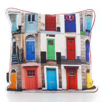 Doors 47cm x 47cm Filled Cushion