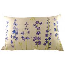 Evans Lichfield Jardin Delphiniums Cushion - 60 x 40cm