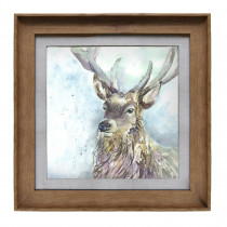 Voyage Maison Wallace 46 X 46cm Framed Artwork - Honey