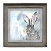 Voyage Maison Harriet Hare 46 X 46cm Framed Artwork