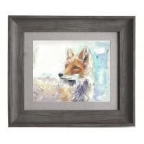 Voyage Maison Foxy 38.6 X 33.6cm Framed Artwork - Stone