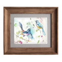 Voyage Maison Dancing Birds Framed Artwork - Honey