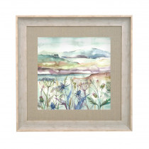 Voyage Maison Highland Haze 68 X 68cm Framed Artwork - Birch