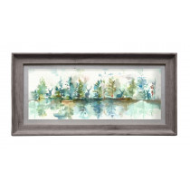 Voyage Maison Wilderness Topaz 71.8 X 36cm Framed Artwork - Stone