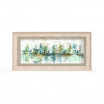 Voyage Maison Wilderness Topaz 71.8 X 36cm Framed Artwork - Birch