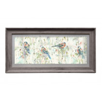 Voyage Maison Chaffinch 71.8 X 36cm Framed Artwork - Birch