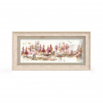 Voyage Maison Caledonian Forest Plum 71.8 X 36cm Framed Artwork - Birch