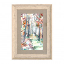 Voyage Maison Into The Woods Autumn 70 X 52cm Framed Artwork - Birch