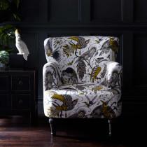 Emma J Shipley Aubudon Gold Dalston Chair
