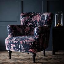 Emma J Shipley Aubudon Pink Dalston Chair