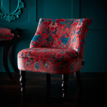 Emma J Shipley Amazon Red Langley Chair