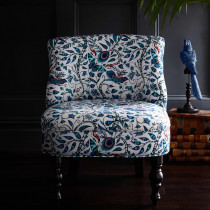 Emma J Shipley Rousseau Blue Langley Chair
