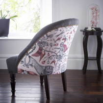 Emma J Shipley Extinct Pink Soho Chair