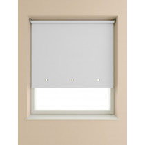 Eyelet Roller Blind 190cm Drop - White