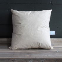 "Square Feather Cushion Pad 46cm x 46cm (18"" x 18"")"