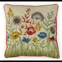 Florence Poppy Cushion