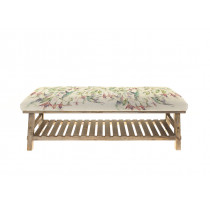 Voyage Maison Rupert Footstool - Fuschia Flight